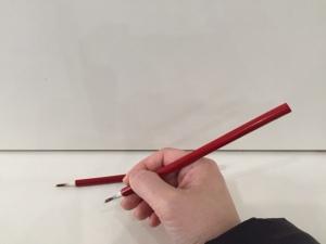 小筆の持ち方